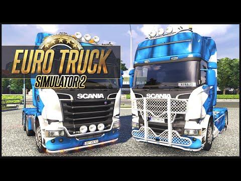 Euro Truck Simulator 2 MP w/ DaSquirrelsNuts - PL to FR - Part 1
