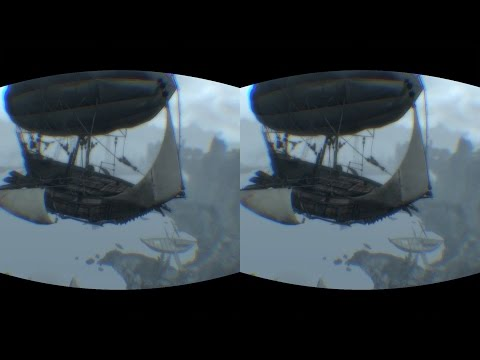 MODDED SKYRIM VR OCULUS RIFT DK2 ,AWESOME AND STABLE!!