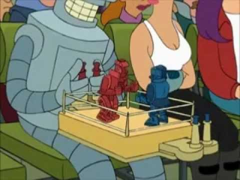 Bender Plays Rockem Sockem Robots,
