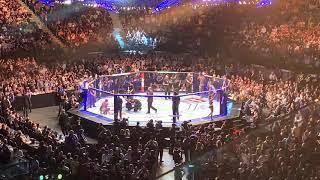 Israel Adesanya v Anderson Silva Fighter Introductions - UFC 234