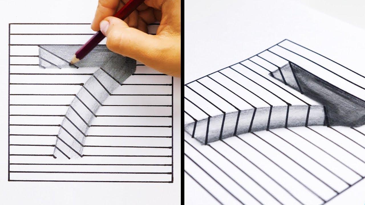 20 Einfache Und Coole Tricks Zum Zeichnen