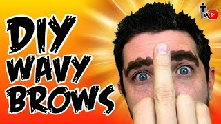 DIY WAVY BROWS - Going Out in PUBLIC!!! - Man Vs Youtube