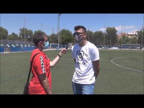 DAVID BERNAL (Entrenador Morata) Giner Torrero 3-0 CD Morata / J 14 / Preferente Gr3