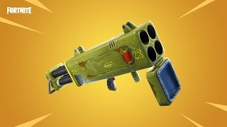 Fortnite - New Weapon: Quadlauncher