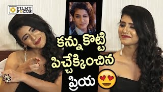 Press Meet: Priya Prakash Gets Naughty With Her Wink Move ..