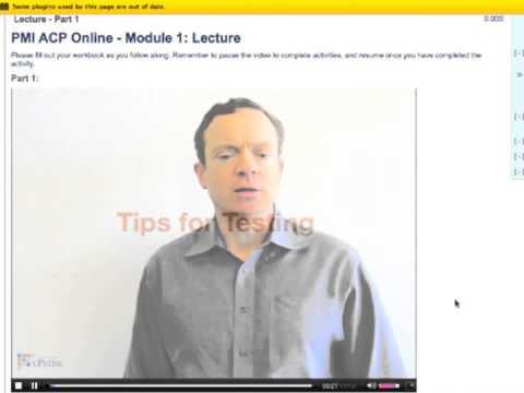 cPrime's Online PMI ACP Exam Prep Course