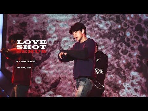 [4K] 181220 Love Shot by sehun