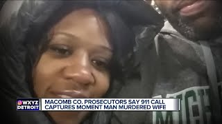 911 call captures moment man murdered wife