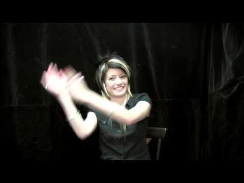 "Chloe Bundt ""Face of D'Lola"" Interview 1"