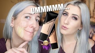 MORPHE Fluidity Foundation Swatches + Review FAIR & LIGHT RANGE