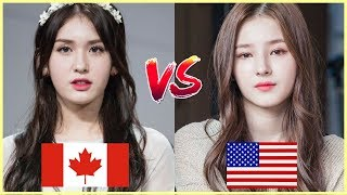 [Half Korean Beauties Battle] I.O.I SOMI vs MOMOLAND NANCY