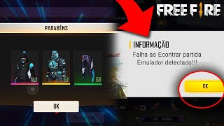VAZOU O NOVO OURO ROYALE DE GRAÇA, DINO ANGELICAL, FIM DO EMULADORES E MAIS NO FREE FIRE!