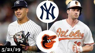 New York Yankees vs Baltimore Orioles - Full Game Highlights   May 21, 2019   2019 MLB Season