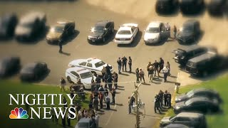 Baltimore Police Officer Killed, Massive Manhunt Underway | NBC Nightly News