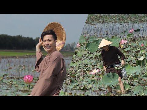Tú Hảo, ST Sơn Thạch rủ nhau lội ao sen chụp hình bỏ mặc Võ Tấn Phát lấm lem đi vặt gương sen | ATKT