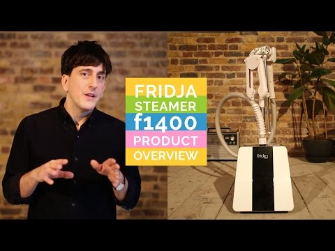 Lime F1400 Fridja Clothes Steamer with 3.2 Litre Water Tank - 100 Minutes of Steam