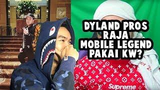 REACTION DYLAND PROS RAJA MOBILE LEGEND PAKAI KW?   #HuntingFake