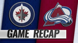 Balanced attack propels Avalanche past Jets, 7-1