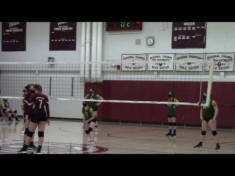 NAC - NCCS JV Volleyball  4-13-21