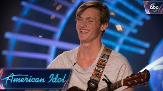 Jonny Brenns Auditions for American Idol With Original Love Song - American Idol 2018 on ABC