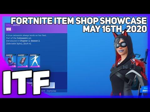Fortnite Item Shop *NEW* REACTIVE VIX SET! [May 16th. 2020] (Fortnite Battle Royale)