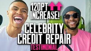 TURBO'S 120 POINT FICO INCREASE || Celebrity Credit Repair Testimonial