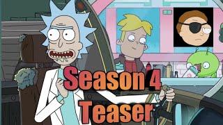 Rick and Morty Season 4 Teaser