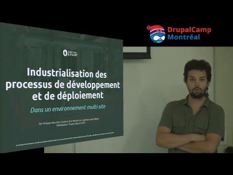 Industrialisation des développements et déploiements multisite Drupal