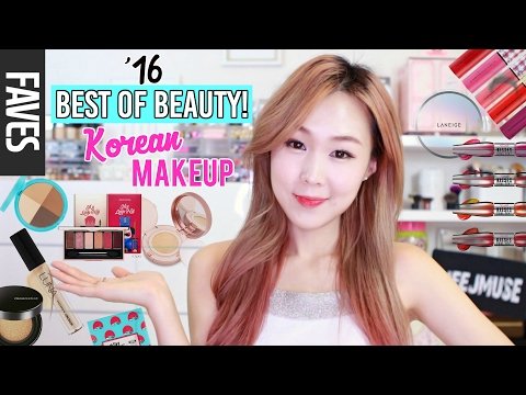 2016 BEST OF BEAUTY: KOREAN MAKEUP! (BB Cushions, Concealers, Palettes, Tints & more) | meejmuse