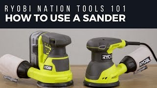 Video: 18V ONE+™ Random Orbit Sander