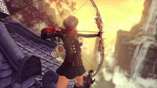 [Blade & Soul] New Class: Archer & Unreal Engine 4 Trailer