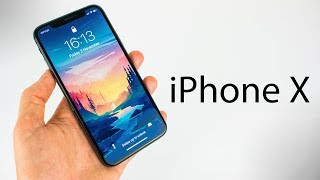 iPhone X - UNBOXING & INITIAL REVIEW!