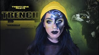 Trench Inspired Makeup | twenty one pilots
