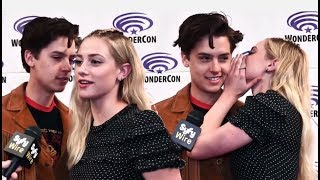 Cole Sprouse Can't Stop Flirting With Lili Reinhart ♥