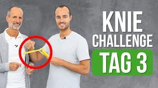 ❇️ Tag 3 ❇️ 7-Tage Knie-Challenge (Knieschmerzen, Übungen, Kniearthrose)