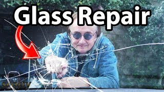 How to Repair a Windshield - Do Glass Repair Kits Work? - DIY with Scotty Kilmer