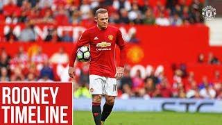 Wayne Rooney's Manchester United Timeline