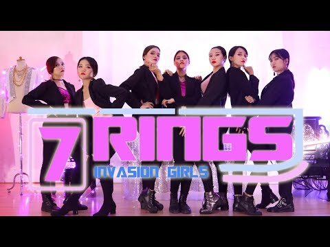 7 RINGS - ARIANA GRANDE | DANCE VIDEO BY INVASION GIRLS