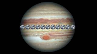 See Jupiter's Great Red Spot in New Views from Hubble