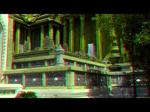 Explore3D Travel: The Thai Grand Palace - 3D Anaglyph