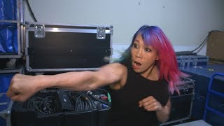 See how Asuka is preparing for James Ellsworth: WWE Exclusive, July 10, 2018