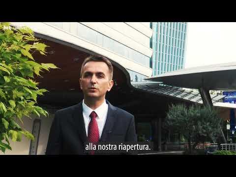 Il videomessaggio del presidente del Gruppo Hit Tomaž Repinc