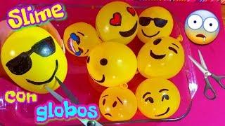 Slime con globos