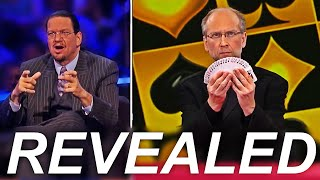 The Card Trick That FOOLED Penn & Teller REVEALED