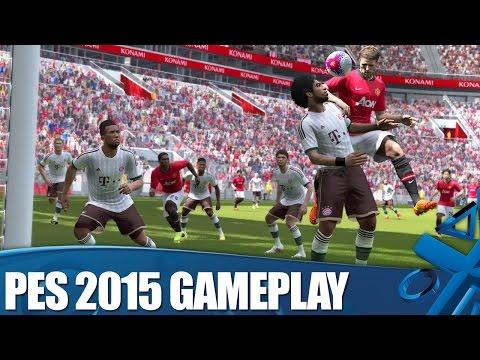 PES 2015 New PS4 Gameplay
