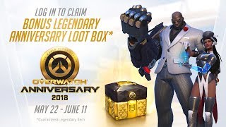 Overwatch launches Anniversary Event