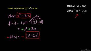Sodost in lihost funkcije 3