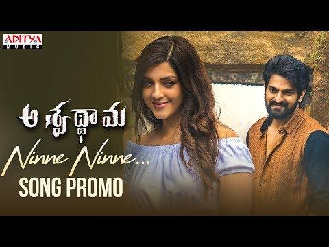 Ninne Ninne Song Promo | Aswathama