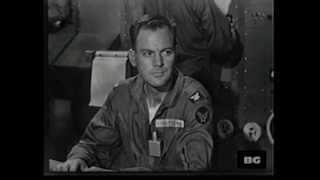 DESTINATION SPACE.  1959 Unsold Sci-Fi Pilot Film w/ John Agar & Edward Platt from Get Smart.