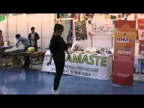 20120526 제8회 대한민국청소년박람회 - 나마스테 이은화 축하댄스